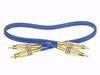 Cable vídeo Coax-2xRCA M a 2xRCA M 0.5m