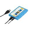 Altavoz Portatil en forma de Cassette USB - Altavoz Azul en forma de Cassette USB.Ref: bxl-spcassetbu