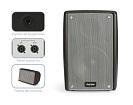 Pantalla Acustica 120W RMS - Pantalla acústica alta potencia de 120W RMS serie compact.Ref: compact-6