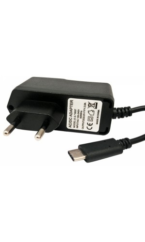 Alimentador Conmutado  5V 2A, CONECTOR USB C 3.1 - Alimentador Conmutado  5V 2A, con conector USB C 3.1.Ref: 0697