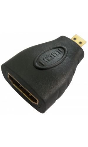 Adaptador HDMI hembra a Micro HDMI macho - Adaptador HDMI hembra a Micro HDMI macho.Ref: 0789