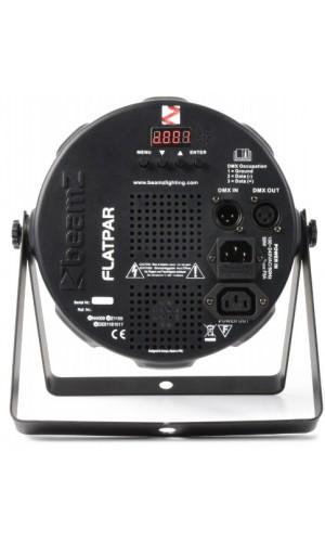 Foco FlatPAR 36x 1W RGB DMX IR mando a distancia - Foco FlatPAR BeamZ 36x 1W RGB DMX IR mando a distancia Ref: 151.290