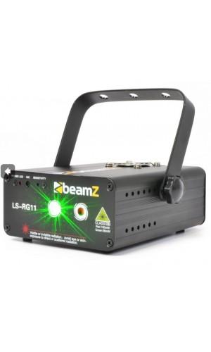 Laser Rojo-Verde Gobo DMX - Laser Rojo-Verde Gobo DMX BeamZ modelo LS-RG11.Ref: 152.876