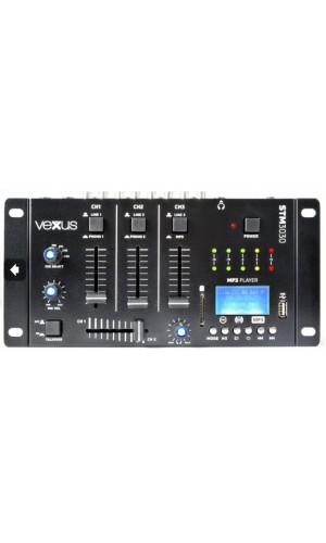 Mezclador Vexus 4 canales USB/MP3/BT/RECB - Mesa de mezclas Vexus mod.STM3030  4 canales USB/MP3/BT/RECB.Ref: 172.990