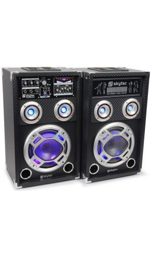 Juego Altavoces Activos USB 600W - Juego Altavoces activos SkyTec KA-08 - 8
