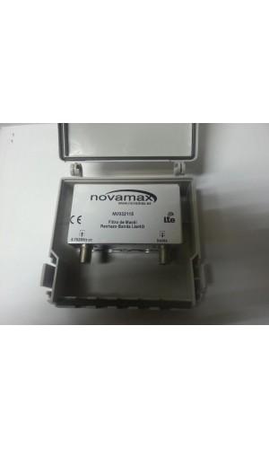 Filtro de rechazo LTE Exterior Novamax - Filtro de rechazo para LTE Novamax.Ref: nv032115