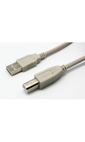 Cable USB 2.0 - macho A / macho B, 3 m