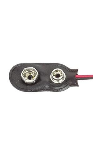 Clip para pila de 9 V. - Clip para pila o bateria de 9 Voltios modelo 33.090/160UL.Ref: bs-ir