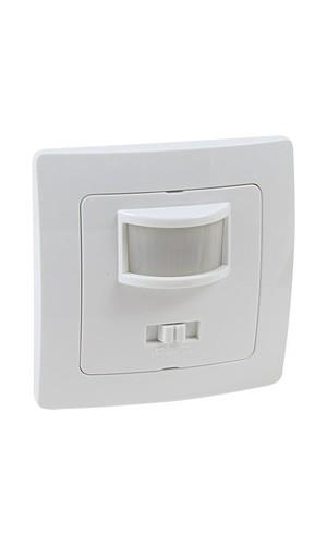 Interruptor/detector de movimiento por infrarrojos empotrable - Interruptor/detector de movimiento por infrarrojos empotrable modelo 36.535/s/b.Ref: 60.252sb