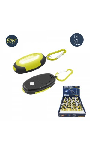 Mini Linterna 30 lumens tipo llavero - Linterna Led XL llavero con 1 led 30 lumens magnetica.Ref.36390