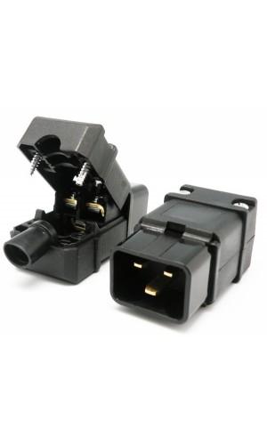 Conector alimentación 16A - Conector alimentación 16A.Ref: 4111