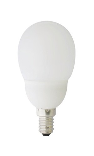 Lámpara Bjo Consumo 9W 2700K E14 - Lámpara Bajo Consumo mini globo redonda 9W 2700K E11.Ref: 492150517