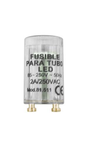 Puente para la instalación de tubos LED. - Puente fusible para la instalación de tubos LED..Ref: 81.511