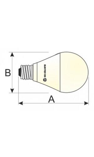 Bombilla LED. G45. E27.7W-CAL MINI - 230V~