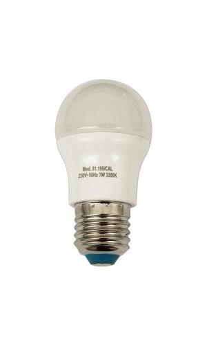 Bombilla LED esférica G45, E-27, 230 VAC 7W