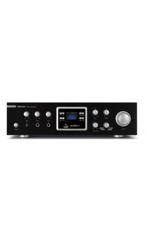 Amplificador Fonestar con Radio - Amplificador Fonestar 60+60 W con sintonizador de radio + USB+Bluetooth.Ref:as-123rub