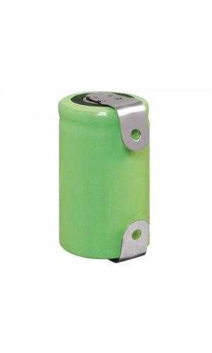 Batería recargable 1/2A, 2/3A NI-MH