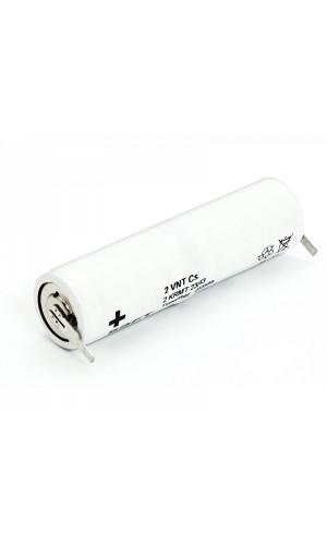 Pack de baterías 2,4V/1600mAh Ni-Cd. - Pack de baterías 2,4V/1600mAh Ni-Cd.Ref: bat094