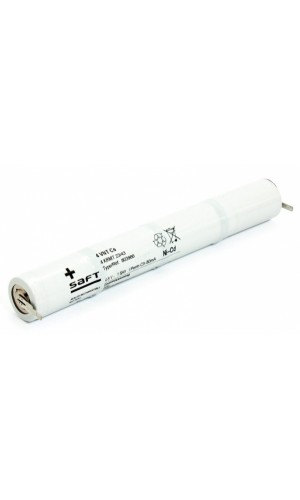 Batería 4,8V/1600mAh Ni-Cd. (Luces Emergencia)
