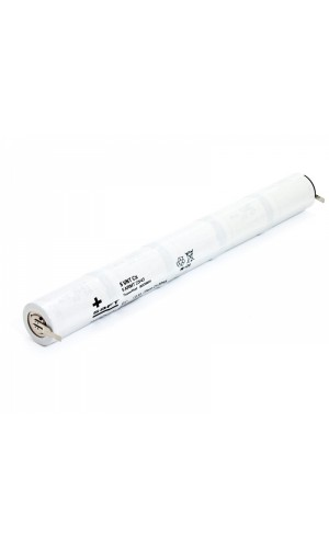 Pack de baterías 6V/1500mAh Ni-Cd. (Luces Emergencia)