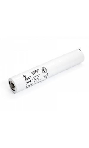 Batería 6 V/2500mAh Ni-Cd.recambio linternas - Bateria de repuesto para linterna 6V - 2500 mAH.Ref: bat099