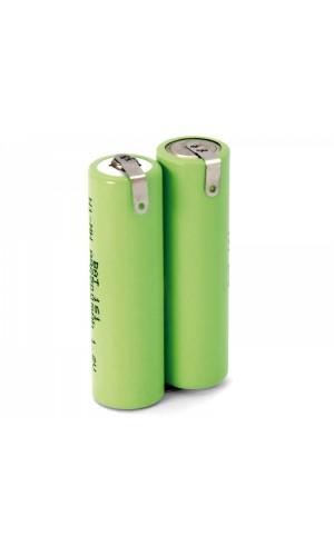 Pack de baterías 2,4V/2500mAh NI-MH - Pack de baterías 2,4V/2500mAh NI-MH para máquinas de afeitar.Ref: bat1041