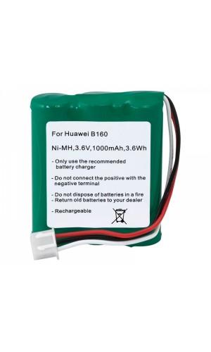 Batería reemplazo para Router HUAWEI - Batería reemplazo para Router HUAWEI 3,6V/1000mAh NI-MH.Ref: bat1126