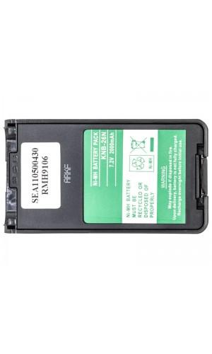 Batería para Walkie Kenwood TK3160 7,2V/2000mAh - Batería para Walkie Kenwood TK3160 7,2V/2000mAh NI-MH.Ref: bat1165
