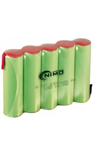 Pack de baterías 6V/2300mAh NI-MH - Pack de baterías 6V/2300mAh NI-MH.Ref: bat173
