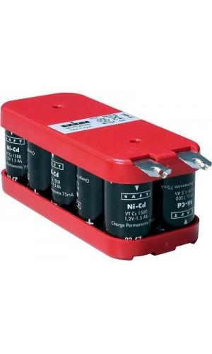 Pack de baterías 12V/1600mAh Ni-Cd - Pack de baterías 12V/1600mAh Ni-Cd.Ref: bat201