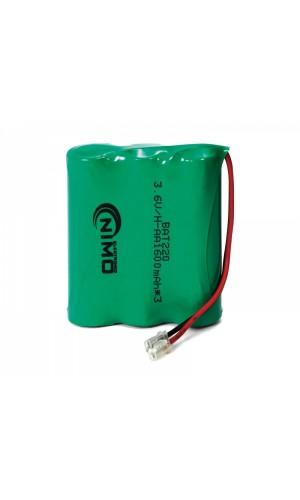 Pack de baterías 3,6V/1600mAh NI-MH