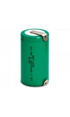Bateria formato R20 - 9A - Batería recargable RC20/Mono D. NI-MH-9A.Ref: BAT234