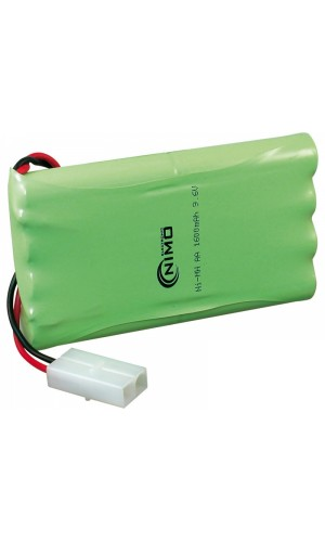 Pack de baterías 9,6V - 1600 MAH NI-MH - Pack de baterías 96 V/1600mAh Ni-Mh.Ref: bat240