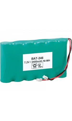 Pack de baterías de 7,2V/2500mAh NI-MH. - Pack de baterías de 7,2V/2500mAh NI-MH.Ref: : bat246