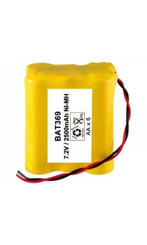 Pack de baterias 7,2V/2500mAh NI-MH. - Pack de baterias 7,2V/2500mAh NI-MH..Ref: bat369