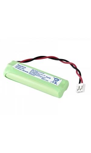 Bateria para teléfono inalámbrico Audioline - Batería reemplazo teléfono AUDIOLINE 2,4V/500mAh NI-MH.Ref: bat4002
