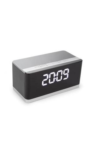 Mini altavoz HI-FI con reloj - AUX + FM + USB + MICRO-SD - Mini altavoz HI-FI inalámbrico con reloj - AUX + FM + USB + MICRO-SD.Ref: btsp7