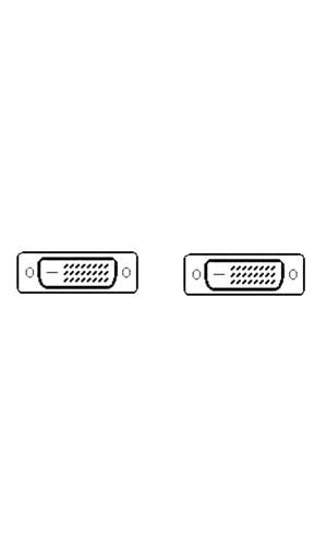 Conexión Doble Enlace DVI-D de 5 mts
