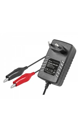 Cargador Baterías de Plomo 6V-12/500 mA