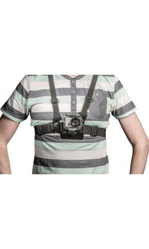Arnés para fijación en el pecho para cámaras de acción