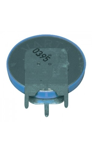 Pila de botón de litio CR2032 3V 180 mAh - Pila de botón de litio CR2032 3V 180 mAh con pestañas de soldadura.Ref: cr2032p