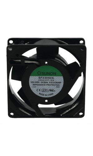 Ventilador 220V AC - 92x92x25 mm - Ventilador 92 x 92 x 25 mm - 220-V. CA.Ref: cy202