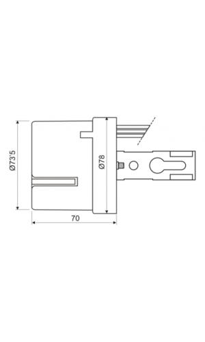 Interruptor fotoelectrico - Interruptor fotoeléctrico dia noche.Ref: 11.598