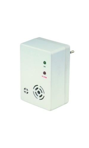 Detector de Gas Natural - Detector de gas natural conectado directamente a la red de 220V. Ref: 50.600gn