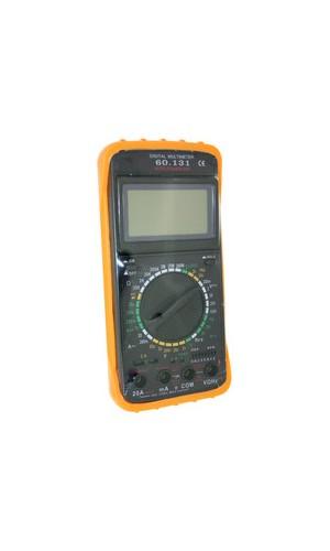 Multímetro digital con medidor frecuencia - Multímetro digital con medidor frecuencias.Ref: 60.131