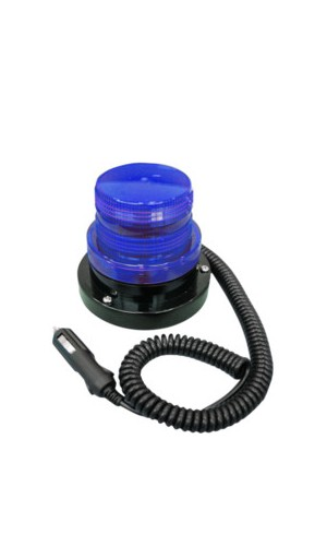 Luz de aviso estroboscópica azul - Luz de aviso estroboscópica azul 12V.Modelo: 60.430az