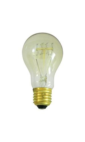 Bombilla decorativa A60.40W E27  - Bombilla decorativa A60.40W E27 filamento de carbono.Ref: 80.673-40