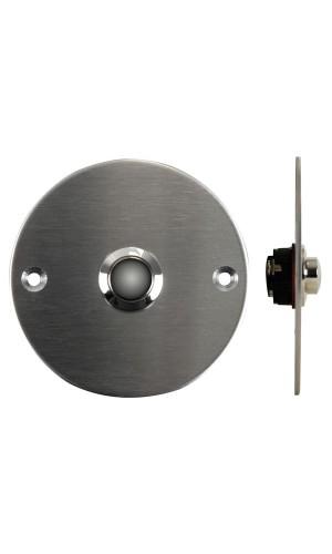 Pulsador Acero Inoxible - Pulsador tipo timbre de acero inoxidable-NA.Ref: dbb4