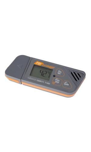 Registrador de datos para temperatura y humedad