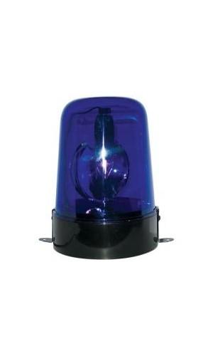 Luz rotativa a leds azul 12V